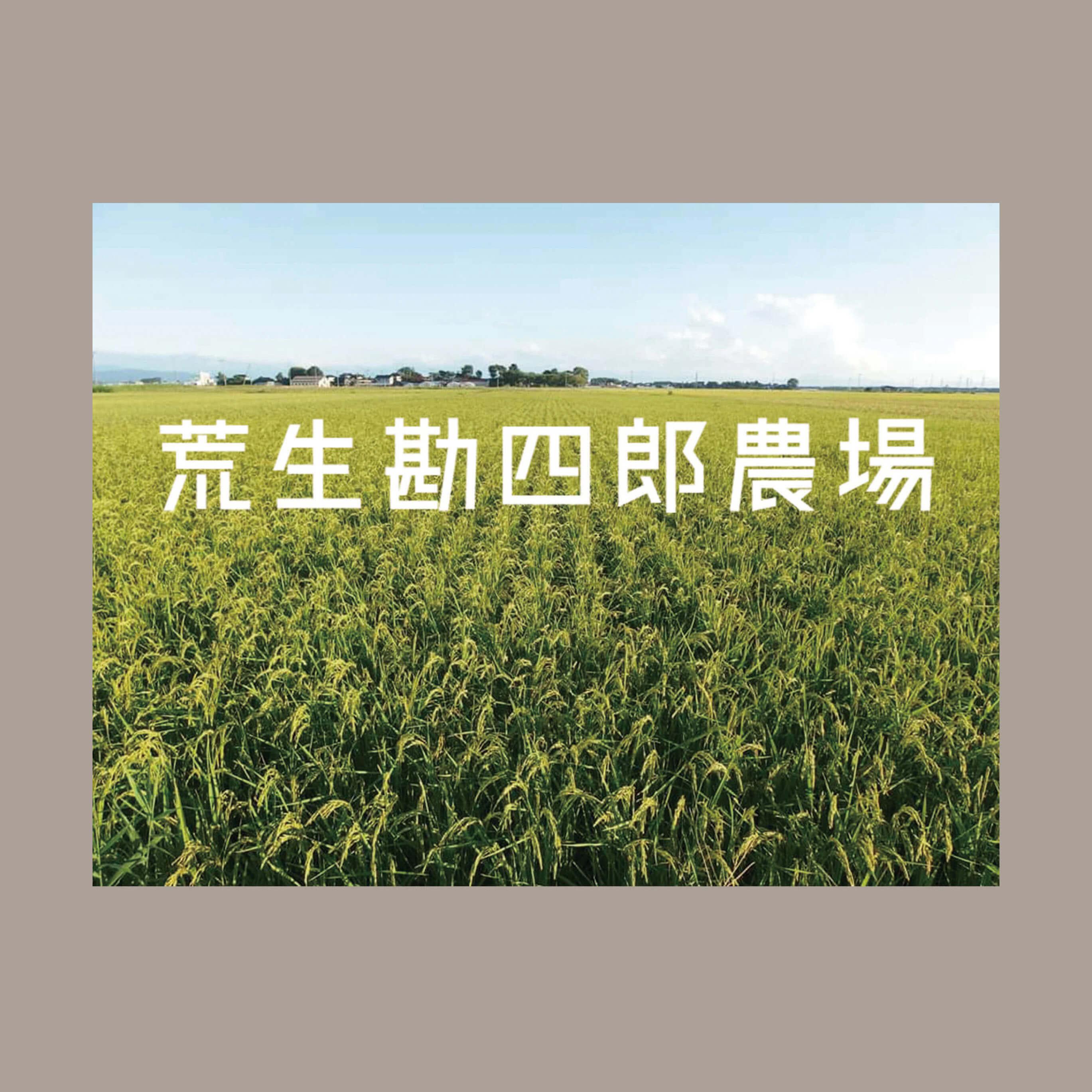 無肥料・無農薬 亀の尾